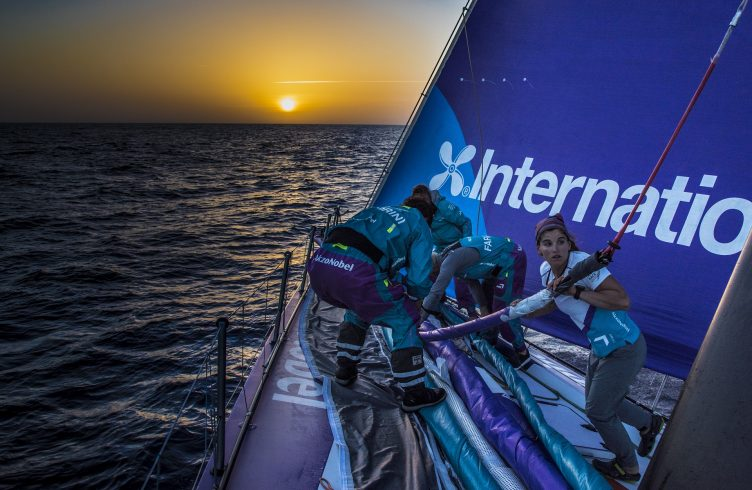 Volvo Ocean Race com tecnologia biométrica da solução SAP