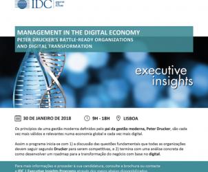 eter Drucker's Battle-ready Organizations and Digital Transformation
