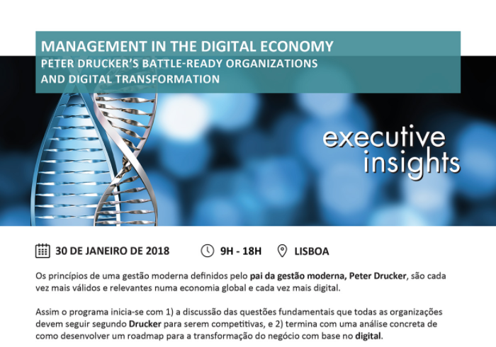 eter Drucker's Battle-ready Organizations and Digital Transformation